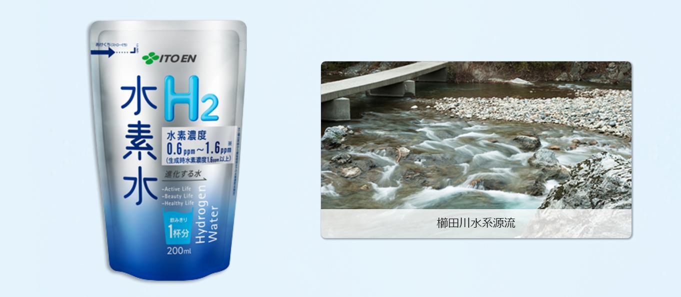 伊藤園 水素水